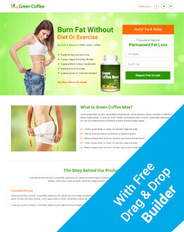 Boost Your Sale Of Product And Services With Responsive Weight Loss Squeeze Page Design HTML5 Template