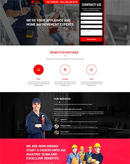 Capture Positive and Quality Leads With Appliance Repair Landing Page Designs