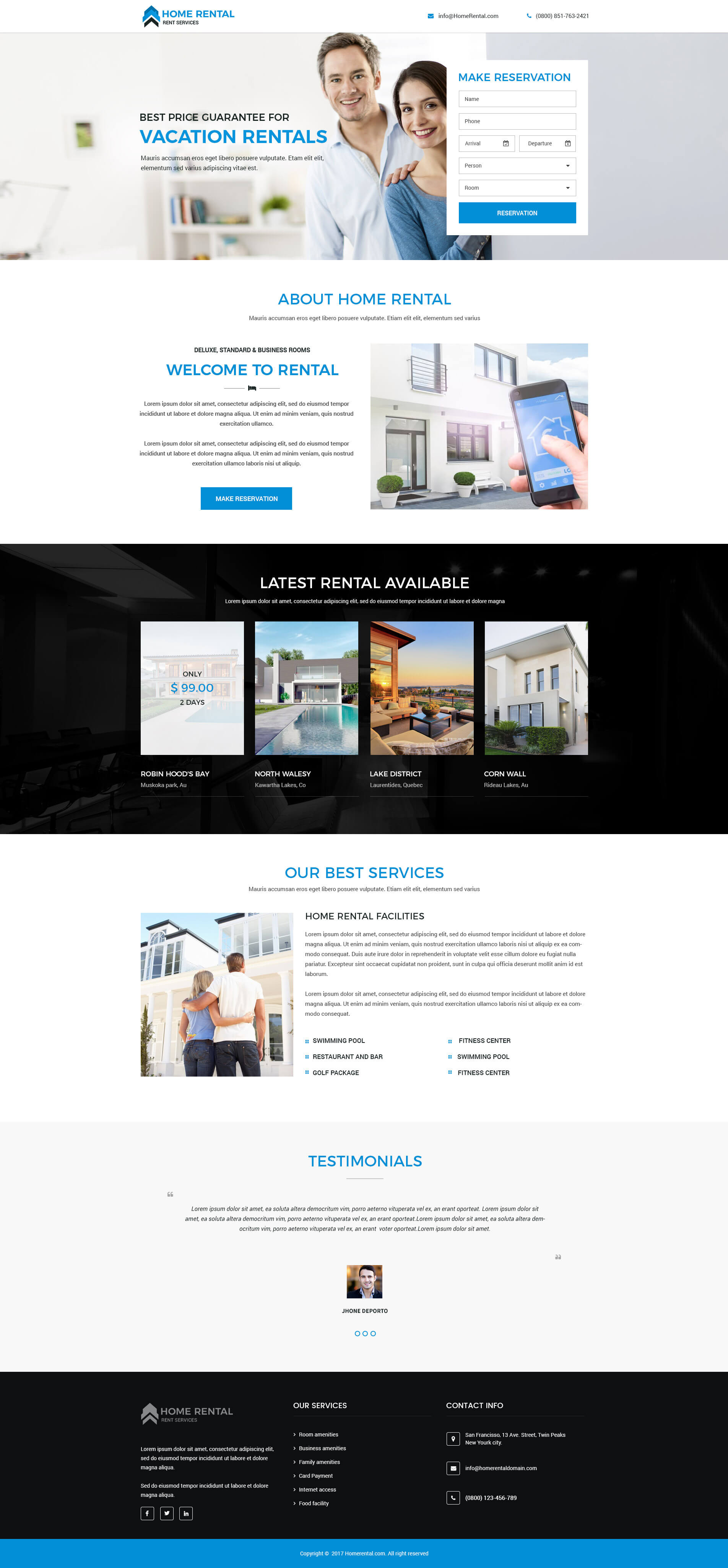 best real estate landing page