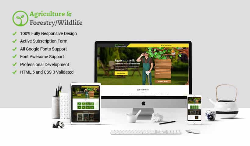 Best Agriculture Landing Page Designs to Increase Sales