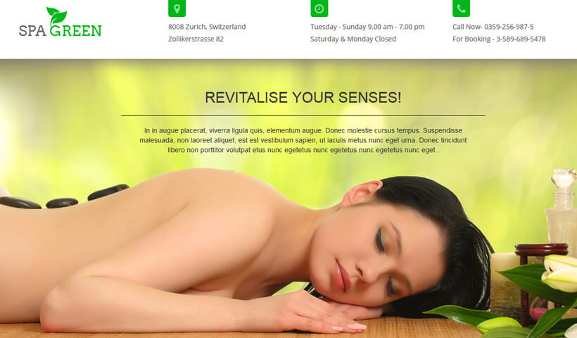 HTML5 Responsive Best Landing Page Design for Beauty Salon To Capture High Leads And Traffic