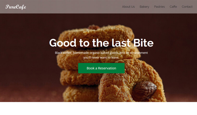 Grow Your Food Business With High lead Generating Restaurant & Café Landing page template