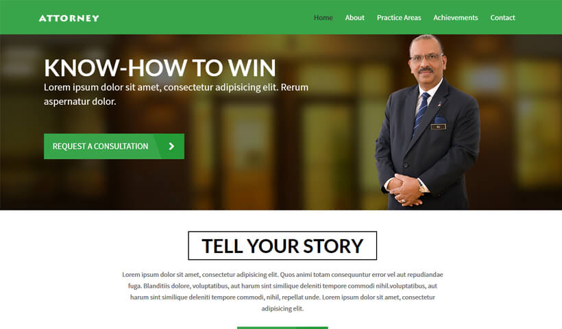 legalpage responsive law firm website templates for law attorney