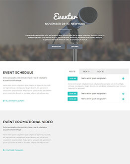 Capture High Lead With Best Conference and Event Landing Page Template