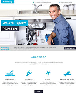 Boost Your Business Conversion with Best landing page template for Plumbing Business