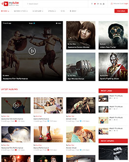 Best YouTube Style Video Sharing Responsive WordPress Theme For Attracting High Traffic