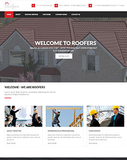 High Lead Generating Fully Responsive WordPress Theme For Roofing Companies & Contractors