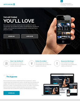Capture High Leads And Traffic With iOS, Android & Windows App Landing Page Template