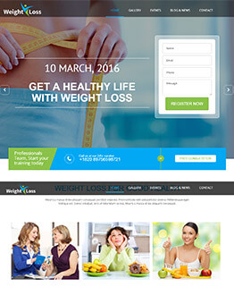 Increase Conversion With Best Weight Loss Landing Page Template