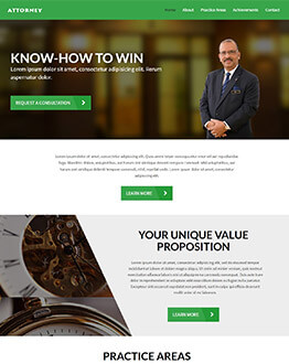 Capture High Leads And Traffic With Law & Attorney Firms Best Landing Page Template