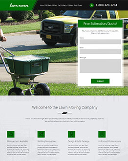 Boost Your Lawn Care Business With Lawn Care Landing Page Template