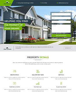 Real Estate High Lead Capturing Landing page templates To Boost Your Real Estate Business