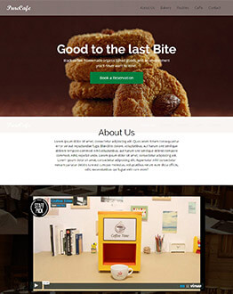 Capture High Leads And Traffic With Restaurant & Café Landing page template