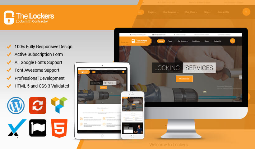 WordPress Theme for Business, Handyman & Service Provider