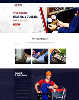Air Conditioning And Heating WordPress Theme