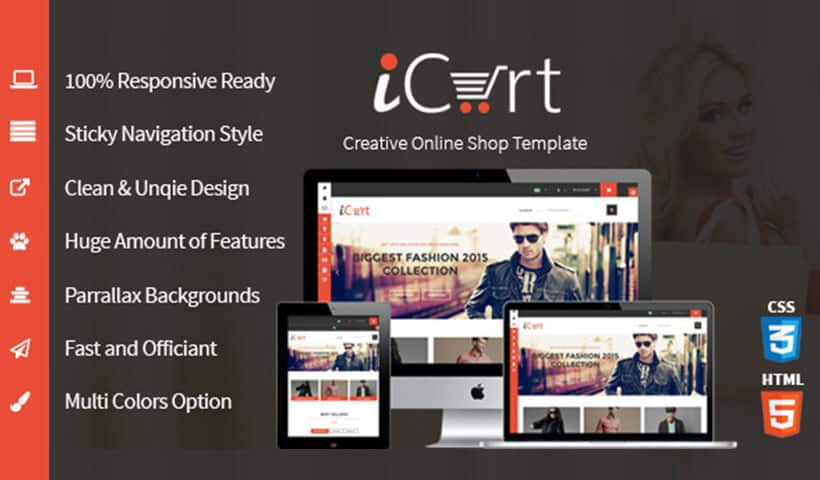 eCommerece Shop & Store HTML5 Responsive Template