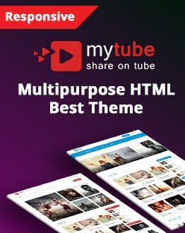 Youtube, Vimeo & Daily Motion Clips Theme HTML Template