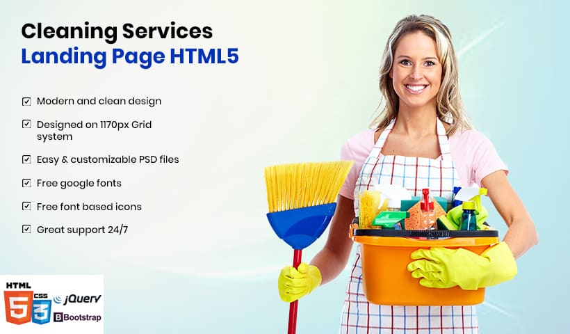 Home Cleaning Template
