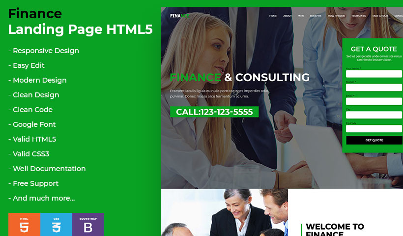 Business Landing-Page