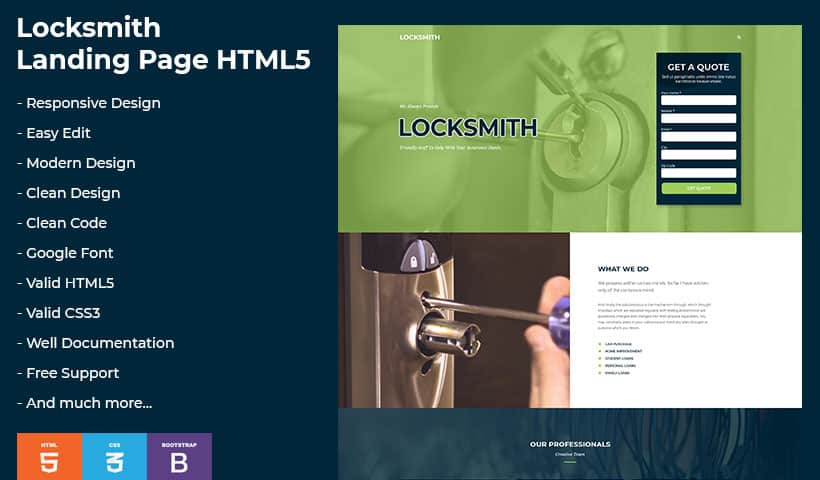 LockSmith-V3 Template