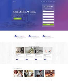 Mortgate HTML Template