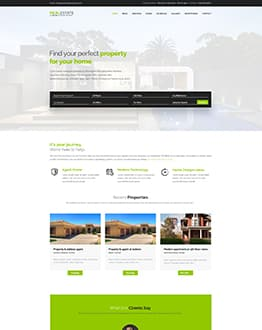 Real-Estate Landing Page Template