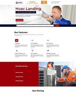 HVAC WordPress Theme